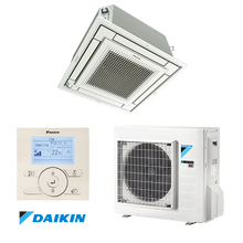 Multi-flow ceiling mounted cassette type air conditioner DAIKIN FFA50A / RXM50M9