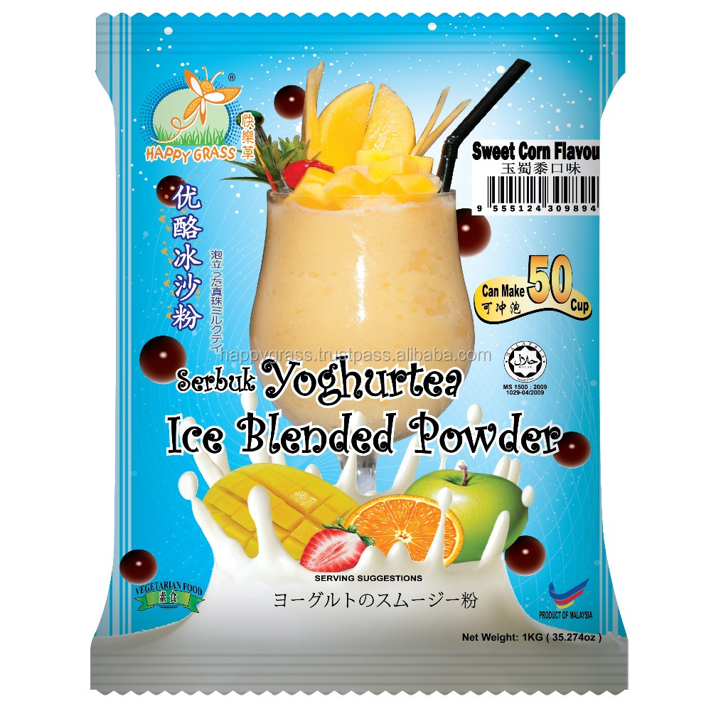 Yoghurtea Ice Blended Powder with Sweet Corn Flavour