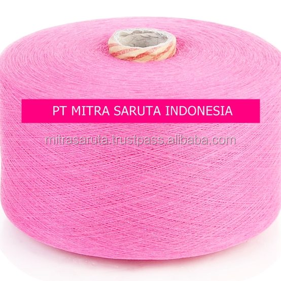 Rosa (Pink) Poly-Cotton Open End Yarn