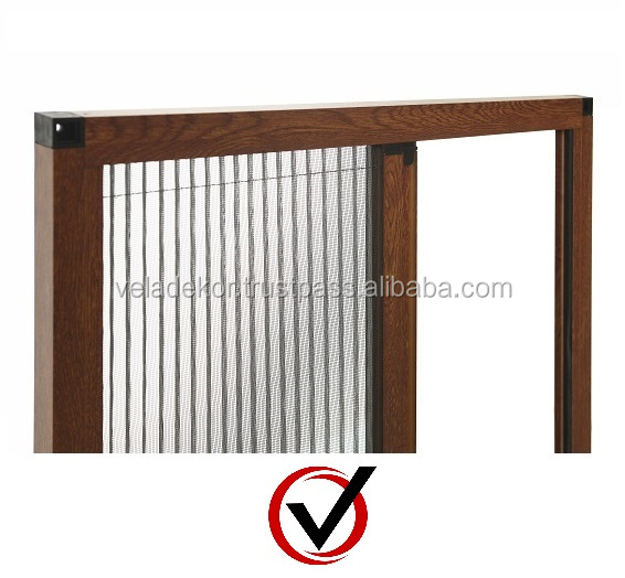 Pleated Insect Screen Profiles and Accessories