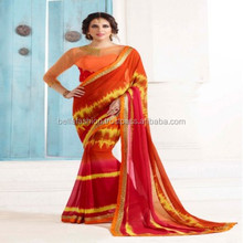 Fashion Designer Indian Traditional Worked Blouse Printed Woman Wear Saree