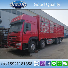 Slightly Used Transporting Howo 8x4 12 Wheel Cargo Truck 40 ton