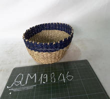 Safety wicker fruit bowl high quality straw pet bowl good price wholesale rattan women staff basket made in Vietnam