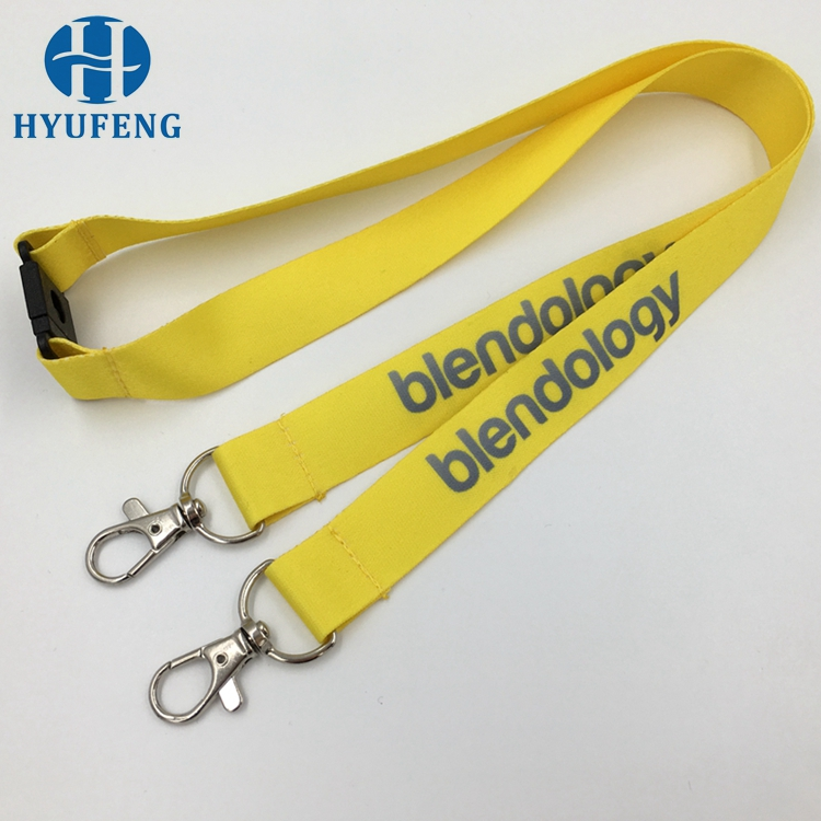 Custom Sublimation Printed Lanyards No Minimum Order