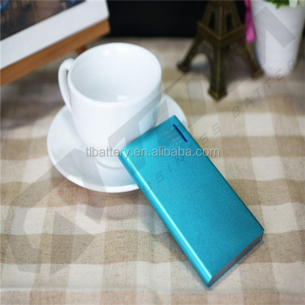2018 High quality Portable Charger External Battery power bank 6800mah mobile charger Power Bank