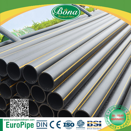 2018 HOTTEST PRODUCT nitrogen gas pipe HDPE PIPE FOR GAS, supply gaseous, OIL pipe