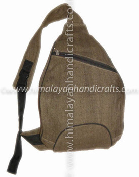 STYLISH ELEGANT ORGANIC HEMP BACKPACK AND RUCKSACK HBB-0002