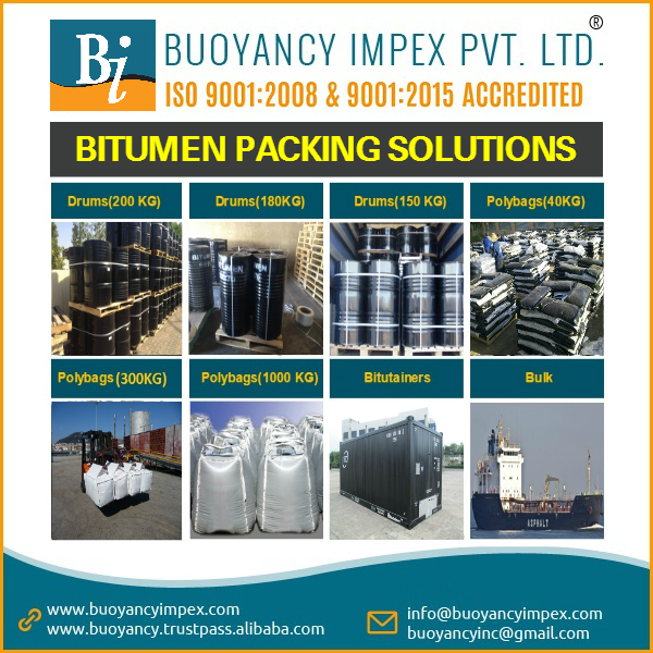 Bitumen grade 60/70 from a trusted exporter with proven record