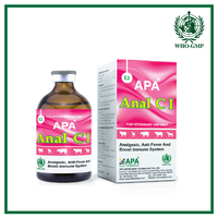 APA Anal C I | Fever medicine for animals with vitamin C and Analgin injection