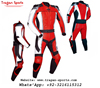 Premium quality motorcycle leather racing suit