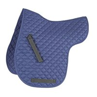 Horse Cotton Quilted Jumping ENGLISH SADDLE PAD Trail Contoured Gel Blue Custom English Saddle Pad Monogram Jumping Horse Bra