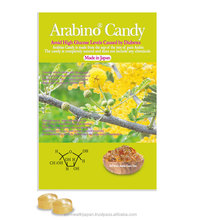 Diabetes food that lower blood pressure with L-Arabinose candy from JAPAN