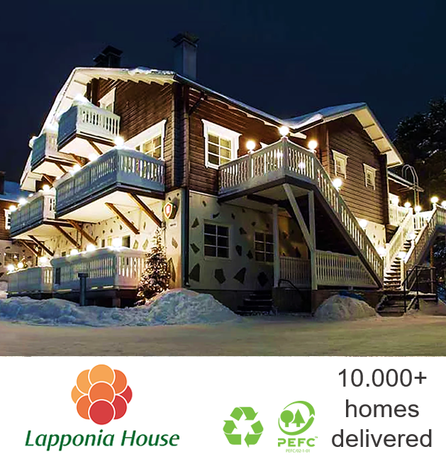 Luxury log chalet | ecological wooden house | award-winning log home | extreme timber house | pre-fab house