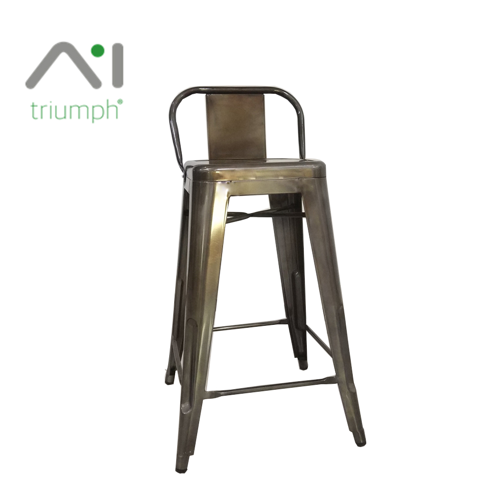 Triumph Public leisure metal benches powder coating / mesh design colorful outdoor gardan chairs / retro metal outdoor chair