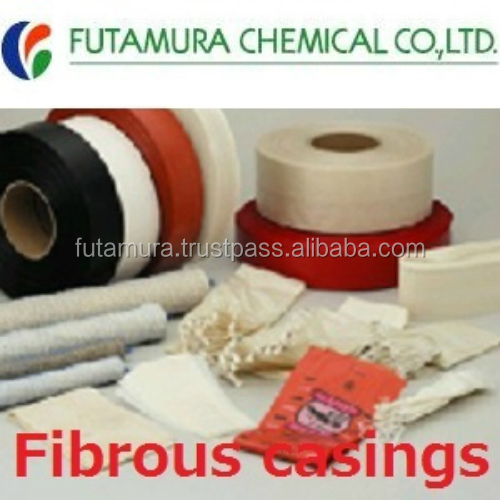 High quality and uniform caliber fibrous beef casings for sale