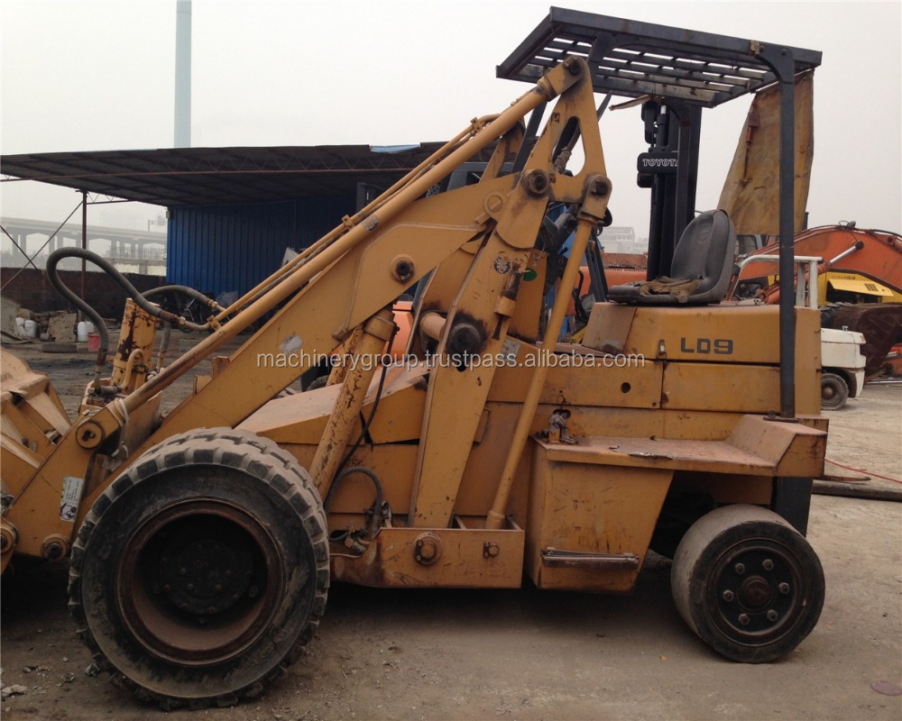 Used skid steer loader TCM LD9 factory for sale in good condition