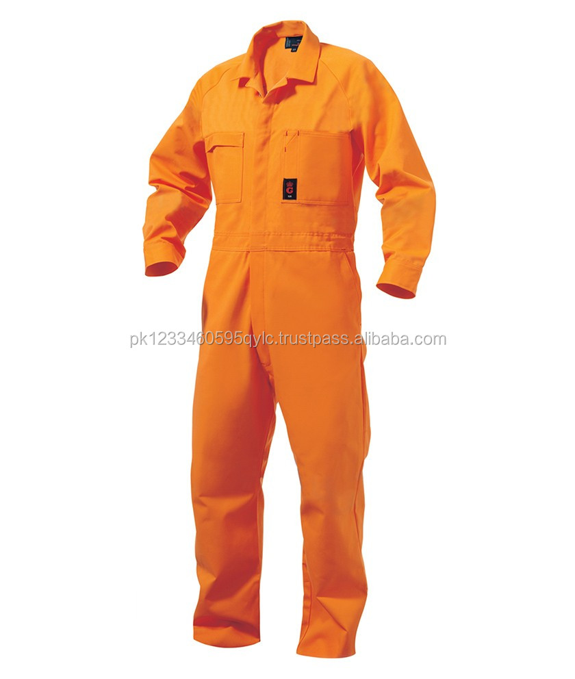 Safety Coverall 100%Cotton Work Wear Safety Uniform