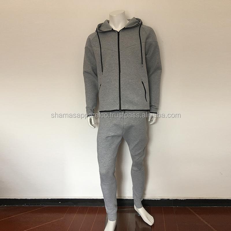 Men Jogging Tracksuit Set Hoodie Top Bottoms Trouser Joggers Sportswear Trackies