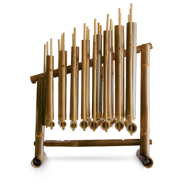 Angklung Malaysia Traditional Musical Instrument Bamboo Made