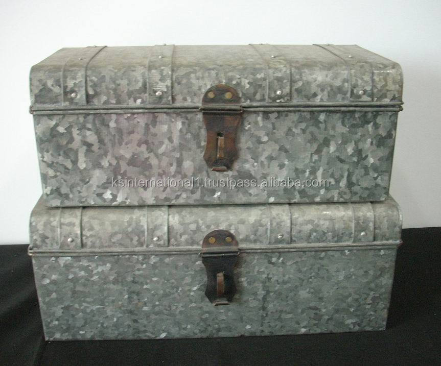 galvanized metal trunk list manufacturers of galvanized trunk box buy galvanized trunk