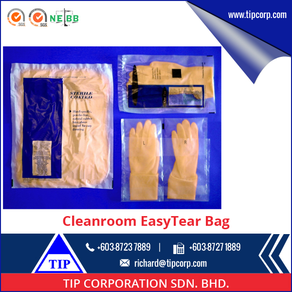 Good Quality Plastic Easy Tearing Packaging Bags