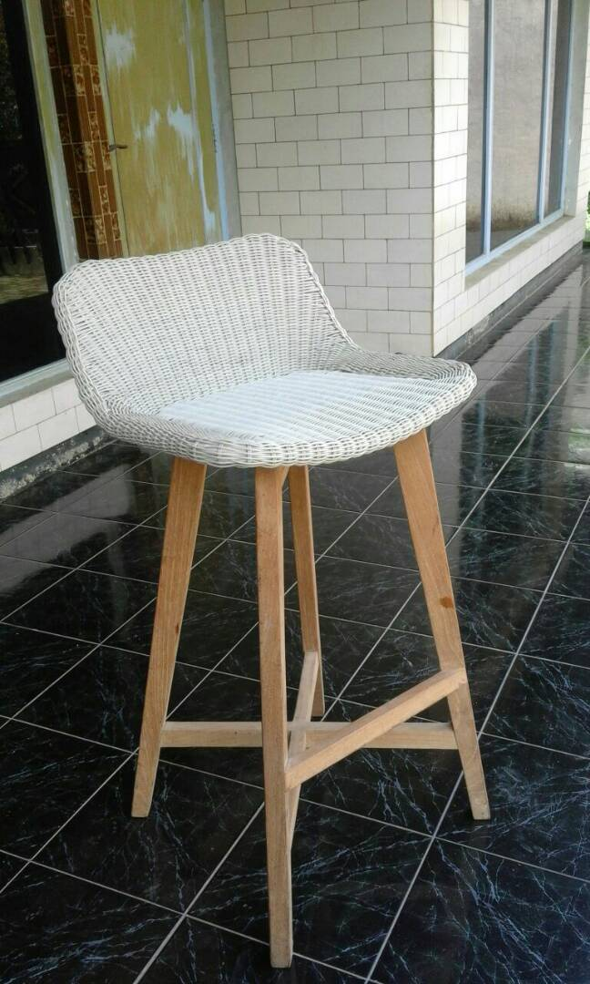 imelda Rattan Bar chair