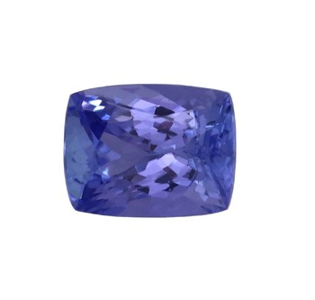 semi precious cushion cut natural AAA tanzanite gemstones