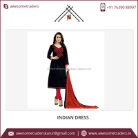 Low Price Custom Pattern Pure Cotton Ladies Winter Suits Salwar Kameez