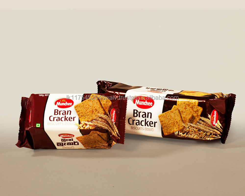 Munchee Bran Cracker Enriched with Goodness of Fibre & Nutrients for a Healthy Wholesome Bite