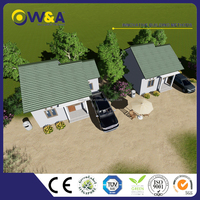 (WAS1002-45D)China Made Newly Designed Solid Prefabricated House/Low Cost Modular House Prices / Building House