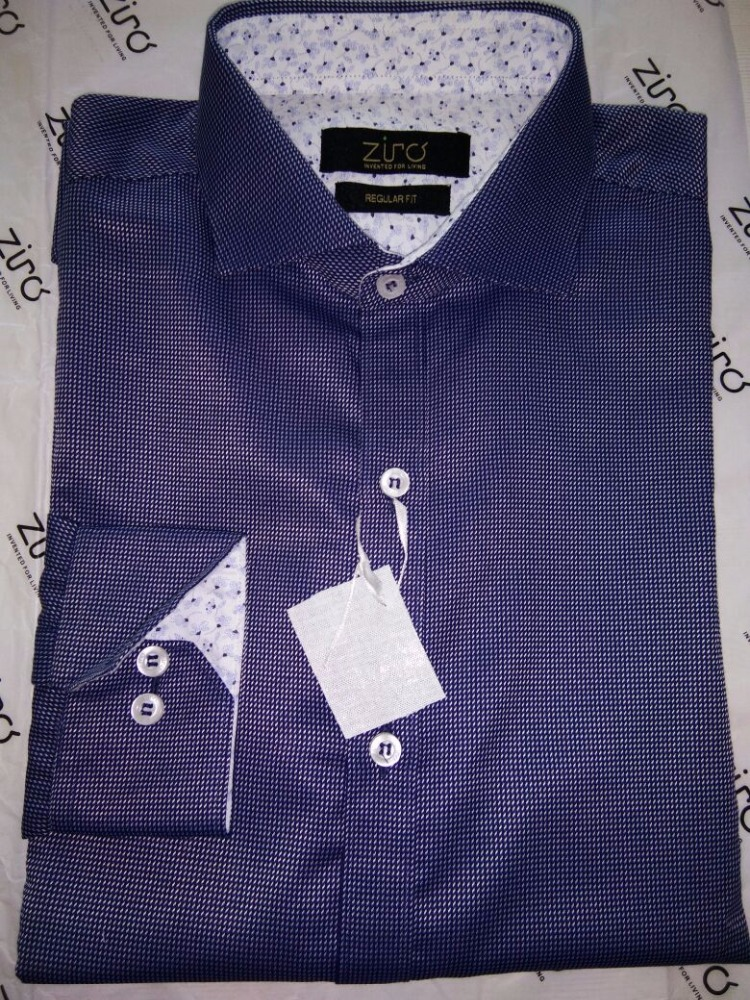 shirts for men trendy blue