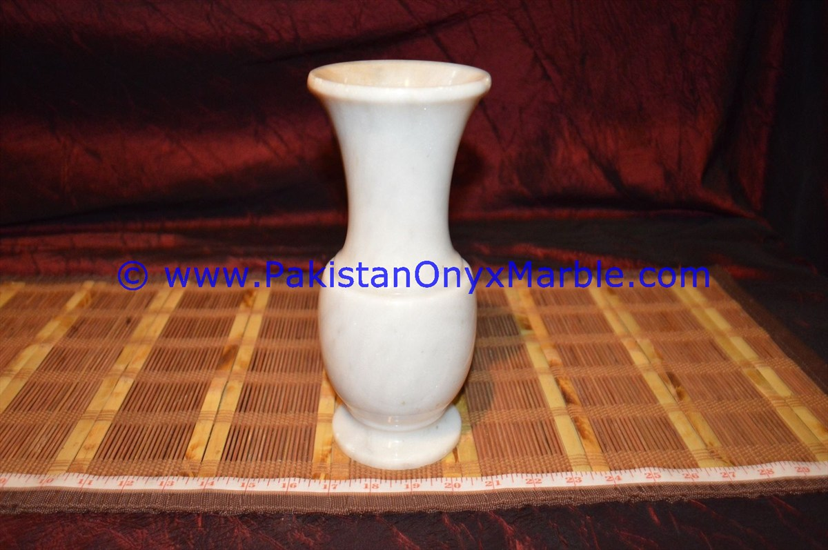 beautiful nature onyx marble vases ziarat carrara white