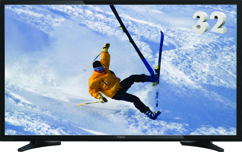 High Quality DLED TV with dual AC/DC power supply