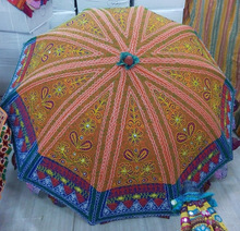 Beach Wear Sun Protective Cotton Umbrella