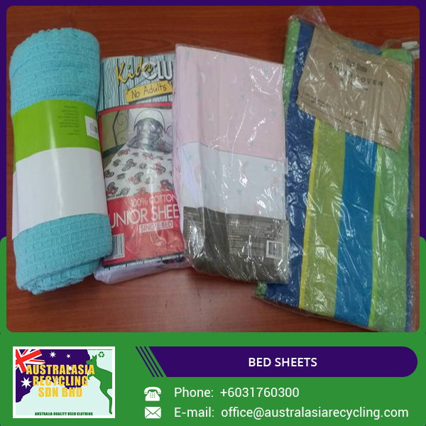 Premium Quality Used Bed Sheets Available for Wholesale