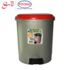 10 Litres Household Plastic Flip Cover Dustbin with step pedal and tight fitting cover (1002)