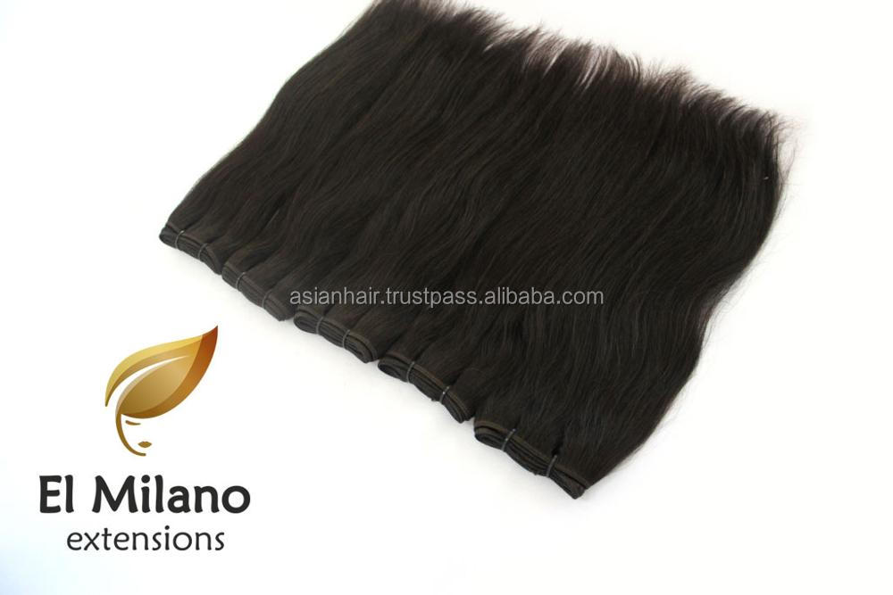 Natural Human Premium Quality East European Weft Hair Extensions