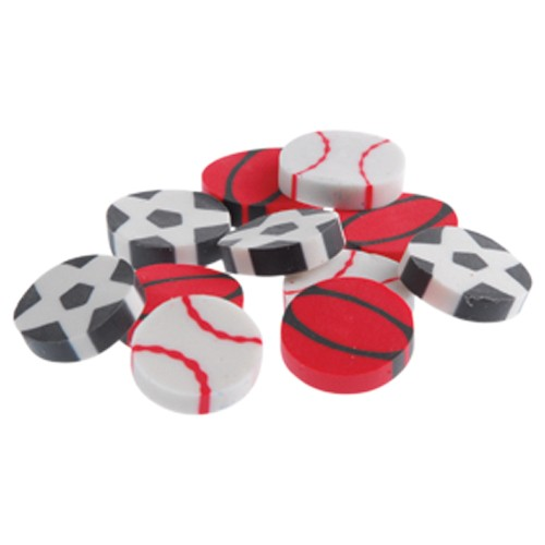 MINI SPORT ERASERS (SOLD BY GROSS) #LM38