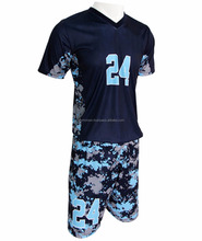 Wholesale high quality adult soccer jerseys custom cheap sublimation reversible soccer jersey / uniforms football jersey