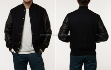 Elegant mens baseball jackets/ wholesale classic man jacket/ custom varsity jackets