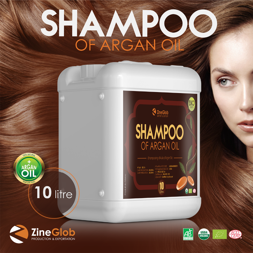 Hair Argan Oil Shampoo, Moroccan Argan Oil in bulk