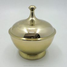 Aluminum Serving Bowl With Brass Plating