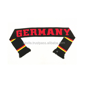 Best Selling Promotional Customized National Flag Scarf, Colorful Scarfs