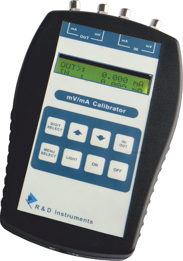 Signal Calibrator-mV/mA Loop Calibrator
