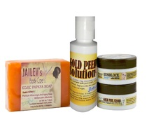 Best Selling Jailev's Rejuvenating Gold Peel Facial Kit for Pinkish and Glowing Skin