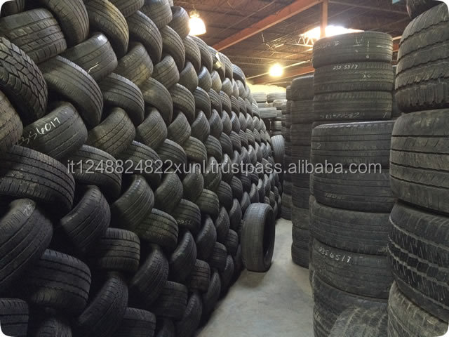 Used good quality car and truck tires ready for african Market