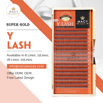 Macy Super Gold Y Lash