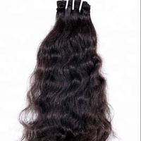 Wholesale virgin cuticle aligned hair extensions, 100 full cuticle aligned raw virgin human indian hair product from india