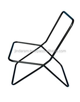 Knockdown Small Square Butterfly Chair Frame
