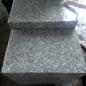 Chinese cheap pink red Granite G664 polished cut-to-size tile